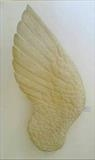 Angel's Wing by Jilly Sutton, Sculpture, Limestone Resin or bronze