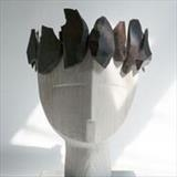 Ebony Crown by Jilly Sutton ARBS, Sculpture
