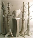 Elm Tree Project by Jilly Sutton, Sculpture, Wood