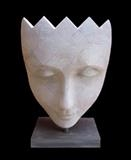Harle-Queen by Jilly Sutton, Sculpture, Limestone