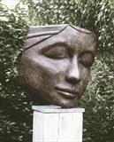 Ponderer by Jilly Sutton ARBS, Sculpture