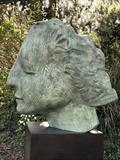'Tiltyard Lady' by Jilly Sutton ARBS, Sculpture, Bronze