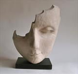 Wistful Wood by Jilly Sutton ARBS, Sculpture, Wood or bronze