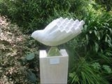 Bird by Jilly Sutton, Sculpture, Limestone resin