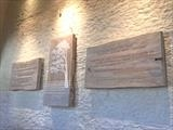 Dartington Hall Triptych by Jilly Sutton ARBS, Sculpture, Wood