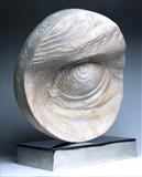 'Eye of the Archer' commissioned for 2012 Olympics by Jilly Sutton, Sculpture, wood, bronze or olive-stone