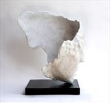 'Head Wind' by Jilly Sutton ARBS, Sculpture, Lime-stone cast
