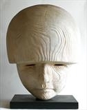 Mars. God of War by Jilly Sutton ARBS, Sculpture, Wood